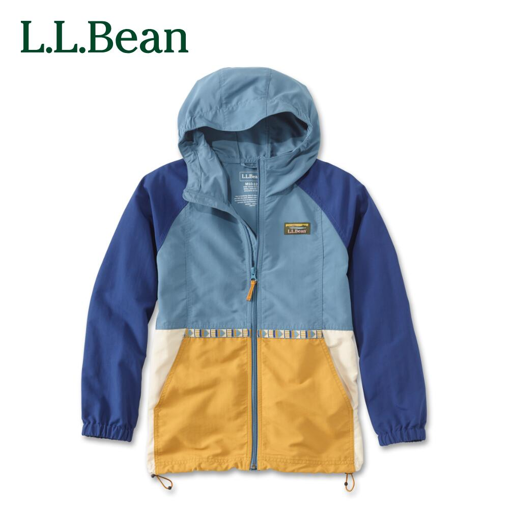L.L.Bean llビーン l.l.bean アウトドア ファッション 送料無料 公式 エルエルビーン キッズ ジャケット ビッグキッズ 4色 再再販 クラシック フルジップ 宅配便送料無料 4サイズ マルチカラー マウンテン