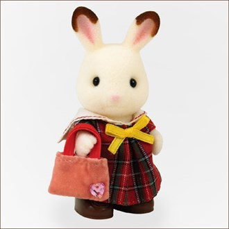 D-sylvanian families [24] girls dress (red)