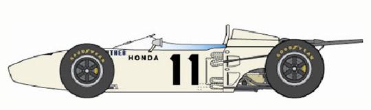 タミヤ 1/20 Honda RA272 #11【塗装済み完成品】【プラモデル】