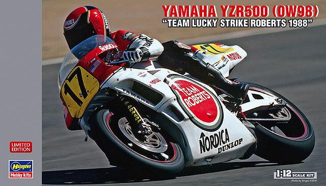 """雅马哈YZR500(0W98)""""组满分罗伯茨1988""""1/12规模[20万1407]"""