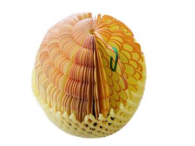 メモ帳 メモ かわいい オシャレ おもしろ文房具 フルーツ パイナップル 売却 果物 果物のオシャレな立体メモ帳 超激安特価 3Dフルーツメモ帳 3D ギフト プレゼント WS018 立体