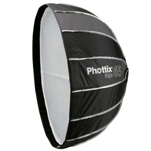 安心の国内代理店正規品 Phottix フォティックス Raja Quick-Folding Softbox プレゼント ソフトボックス ボーエンズマウント付属 人気ブランド 1年保証 傘のように素早く展開 65cm 父の日