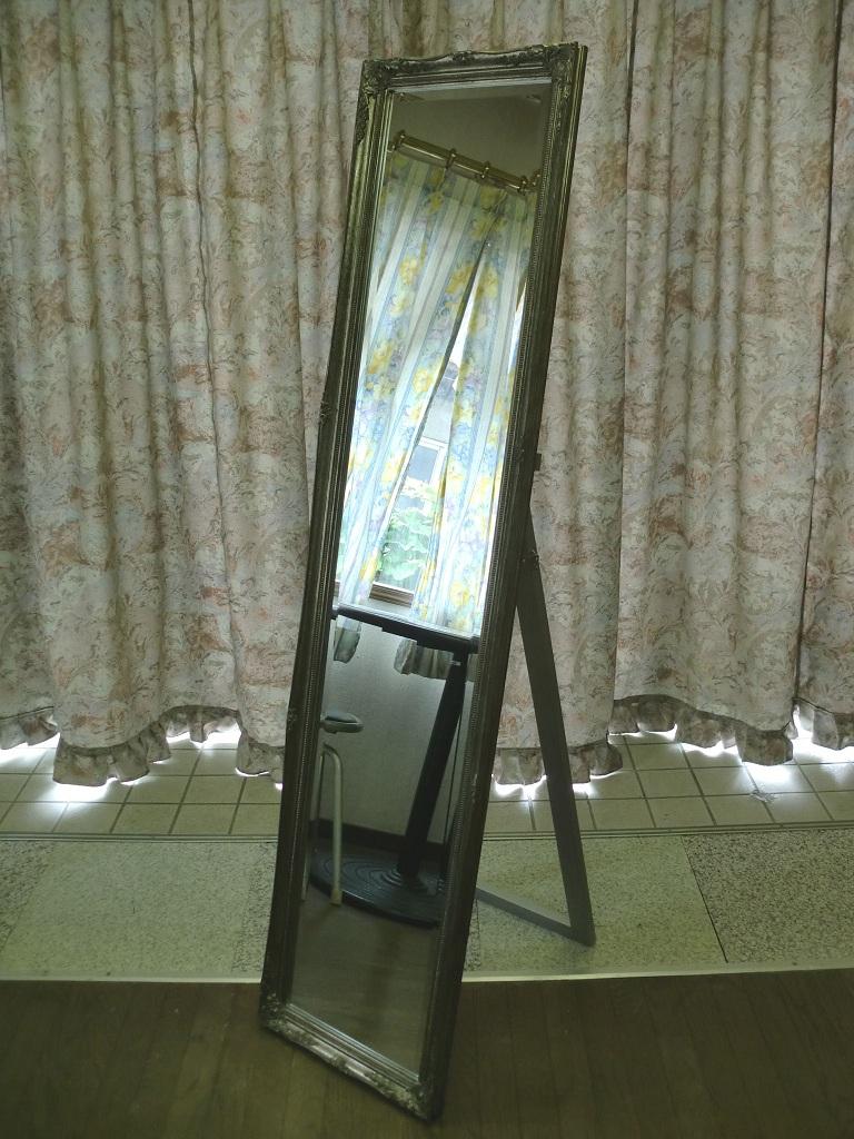 ゴシックアンティーク調◆ 鏡 ウォールミラー ◆ 全身用 ◆ 姿見 ドレッサー ◆「納期約1週間」