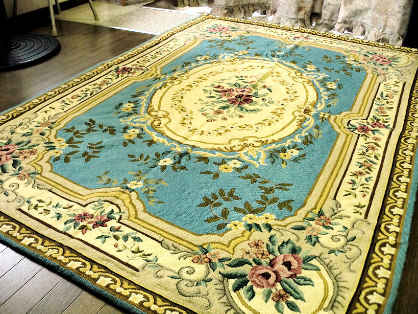 1 Art India Hand Embroidered Rug Mat 200 Times