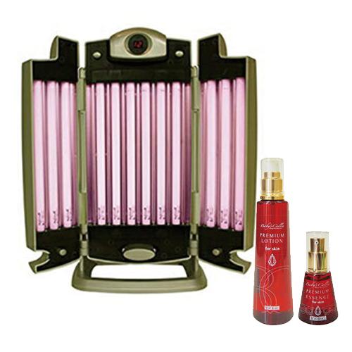 (さらに選べるおまけGET)(自宅で光のパック!)ベビーズコラ ビューティーライト(Baby's Colla Beauty Light) 卓上フェイシャルタイプ(プレミアムローション(200ml)付属)【smtb-s】