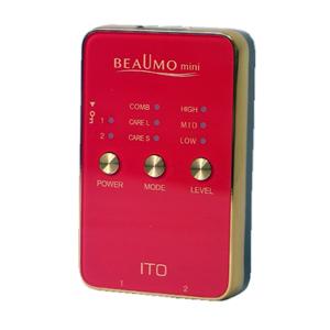 (美容・運動器)マイクロカレント BEAUMO mini(ビューモミニ) - 気になる部分を一度にケア ふれる度に輝きが目を覚ます。【smtb-s】