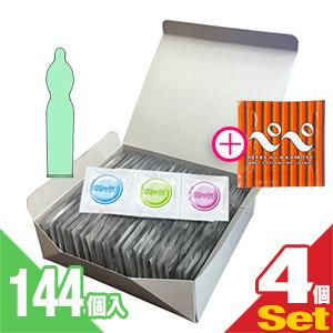 ◆(送料無料)(男性向け避妊用コンドーム)不二ラテックス めちゃうす 1500 144個入り x5箱セット(計720個) + オカモト ぺぺローション5mL(PEPPE)セット - 一段しぼり型の脱落防止効果。プレーンタイプのうす型。ゼリー付 ※完全包装でお届け致します。【smtb-s】