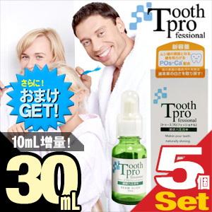 (さらに選べるおまけGET)(増量タイプ!)(デンタルケア用品)ビームスリック トゥースプロフェッショナル(tooth professional) 30mL×5個セット
