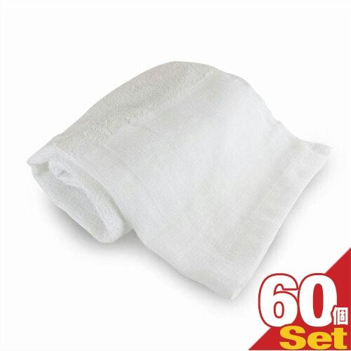 (あす楽対応)(ホテルアメニティ)業務用 スポーツタオル(大判タオル) 綿100% 320匁 (100x40cm) × 60枚セット - 性別を問わない清潔感のあるシンプルなデザイン。