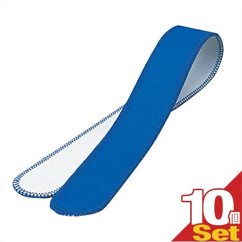(あす楽対応)(伸縮性抜群)(正規代理店)アシスト(ASSIST) 巾広マジックベルト 10×60cm (ブルー)×10本セット - 導子固定のスタンダードタイプ。治療器導子の固定用だけでなく、患部の固定・荷物の結束・着物の着付けなど、いろいろな用途に。【smtb-s】