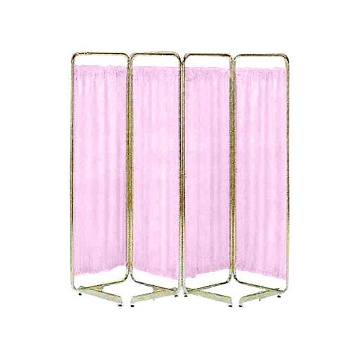 小巾衝立 SS-40型(四つ折 180x151cm) ピンク【smtb-s】