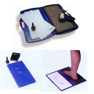 (ドイツ製)Foot Printer Set フットプリンターセット - 足低圧を簡単に計測出来ます。【smtb-s】
