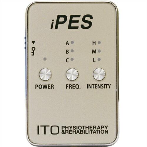 (伊藤超短波) イトー iPES 小型低周波治療器 - 軽量・コンパクト・簡単操作! 【smtb-s】