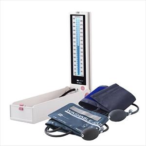 (水銀レス血圧計)ケンツメディコ(KENZMEDICO) 水銀レス血圧計 KM-380II - 電源を押せば、パッと点いて、パッと使えるシンプル操作。カフは選べる2種類(ウォッシャブルカフ仕様・綿カフ仕様)