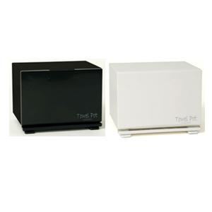 (Towel Pot)タオルポットTP-35W/TP-35B (SS-433A・B) - ホワイト・ブラックからお選び下さい。【smtb-s】