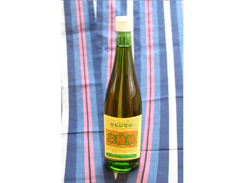 【人気商品】【平出油屋】平出の菜種油(なたね油) 660g(瓶)