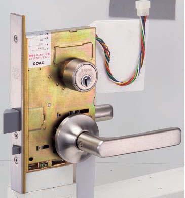 レバーハンドル型 ケースロック型電気錠アンチパニック通電時施錠型 GOAL P-ELRP 即出荷 再販ご予約限定送料無料 11S 右勝手用 7 NU