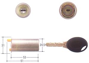 MIWA-PR(J) PMK交換シリンダー
