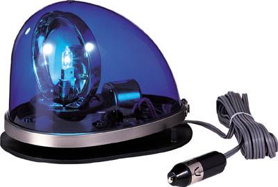 【パトライト】パトライト 流線型回転灯 青 HKFM102GB【安全用品/保安用品/パトライト/合図灯/流線型回転灯】【TC】【TN】7952