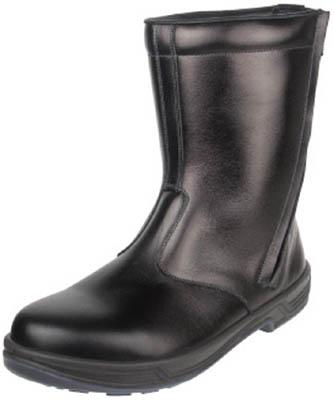 【シモン】シモン 安全靴 半長靴 8544黒 23.5cm 8544BK23.5【保護具/安全靴/半長靴】【TC】【TN】9564