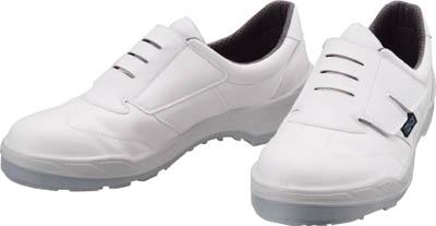 【シモン】シモン 静電安全作業靴 短靴 ECO18白 25.0cm ECO18W25.0【保護具/作業靴/シモン/静電靴/静電気セフティーシューズ(ペットボトル再生合成皮革)】【TC】【TN】8945
