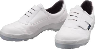 【シモン】シモン 静電安全作業靴 短靴 ECO18白 25.5cm ECO18W25.5【保護具/作業靴/シモン/静電靴/静電気セフティーシューズ(ペットボトル再生合成皮革)】【TC】【TN】8988