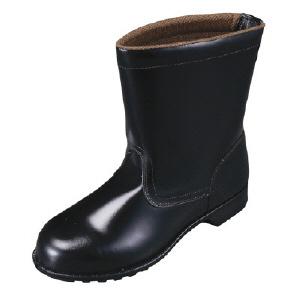 【27.0cm】FDシリーズ半長靴FD44-27.0(株)シモン【靴/黒/長靴】【工具/機械/作業/大工/現場】【T】12584