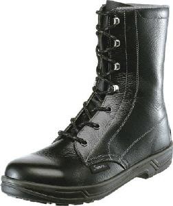 【23.5cm】長編上靴(SX3層底)SS33-23.5(株)シモン【靴/黒】【工具/機械/作業/大工/現場】【T】12526