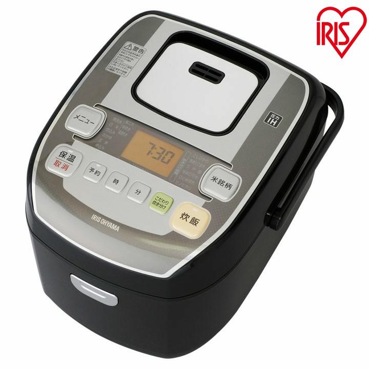 送料無料 米屋の旨み 銘柄炊き 圧力IHジャー炊飯器 5.5合 RC-PA50-B ブラック アイリスオーヤマ