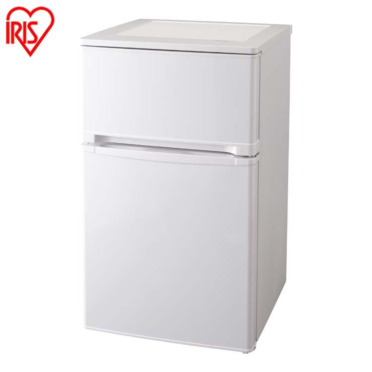 ノンフロン冷凍冷蔵庫 2ドア 81L ホワイト AF81-WP送料無料 冷蔵庫 冷凍庫 料理 調理 一人暮らし 独り暮らし 1人暮らし 家電 食糧 冷蔵 保存 保存食 食糧 白物 単身 れいぞう コンパクト キッチン 台所 寝室 リビング アイリスオーヤマ