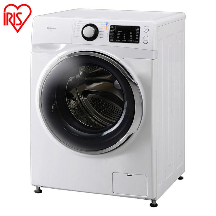 ドラム式洗濯機 7.5kg ホワイト/ホワイト FL71-W/W 送料無料 洗濯機 ドラム式 全自動 なるほど家電 家電 生活家電 白物家電 部屋干し タイマー アイリスオーヤマ