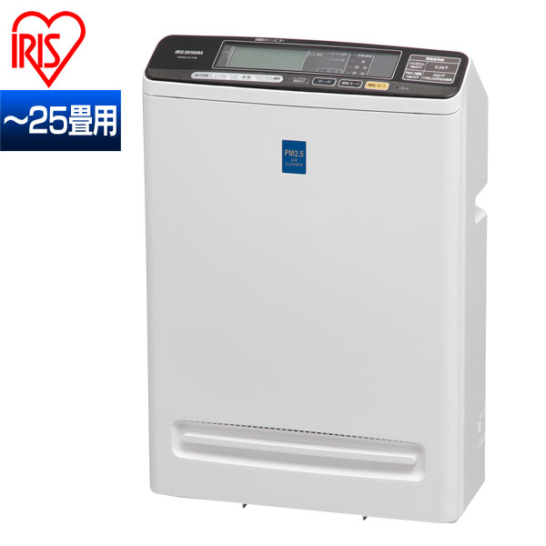 【送料無料】アイリスオーヤマ PM2.5対応空気清浄機PM2.5ウォッチャー 25畳用