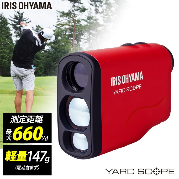 レーザー距離計 レッド PLM-600-R送料無料 ゴルフ ゴルフ用品 シンプル 飛距離表示 ピンサーチ Fogサーチ スピード測定 防滴仕様 シンプル 【D】