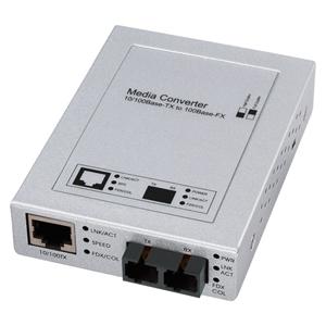 【サンワサプライ】光メディアコンバータ LAN-EC202C 728【TD】