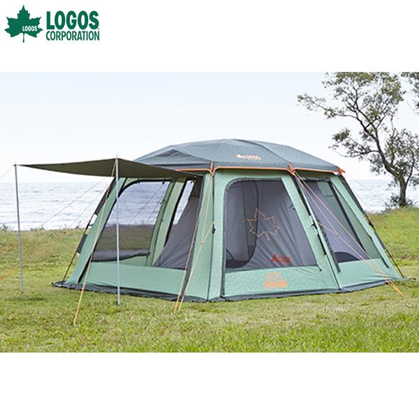 【送料無料】ロゴス(LOGOS) 組立て5分 Q-インセクト2ルーム-AE 【TC】【NW】【アウトドア キャンプ レジャー バーベキュー BBQ 登山 ピクニック フェス】
