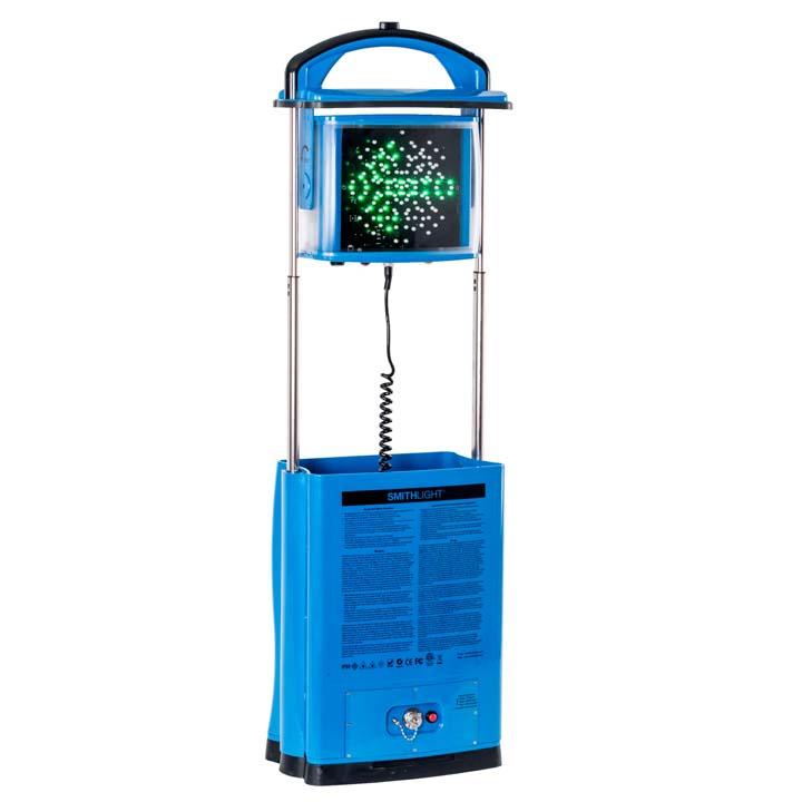 スミスライト IN120LB-R-EML ブルー 送料無料 ライト LED 投光器 バッテリー式 ライト投光器 ライトバッテリー式 LED投光器 投光器ライト バッテリー式ライト 投光器LED 【TC】