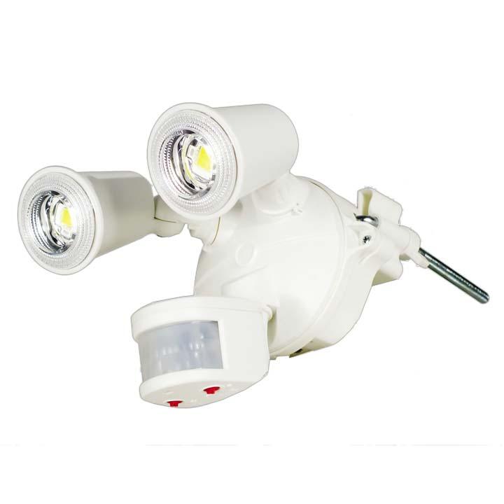 LEDセンサーライト クラブアイ 20W SLS-CE20W-2P送料無料 電燈 電灯 らいと 明かり 電燈らいと 電燈明かり 電灯らいと らいと電燈 明かり電燈 らいと電灯 日動工業 【D】