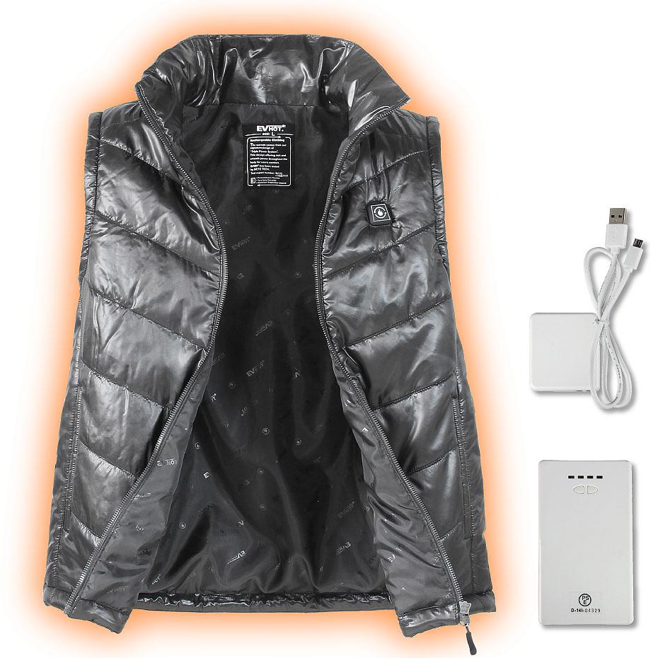 SCW-6122通販 S〜LL サンライン 【あす楽対応】 ベスト ホットヒーターベスト SCW-6122 SUNLINE EV-HOT Heater Vest (バッテリーは別売りです) インナー フィッシング HOTヒーターベスト 釣り具 EV ブラック 【送料無料】 ウ
