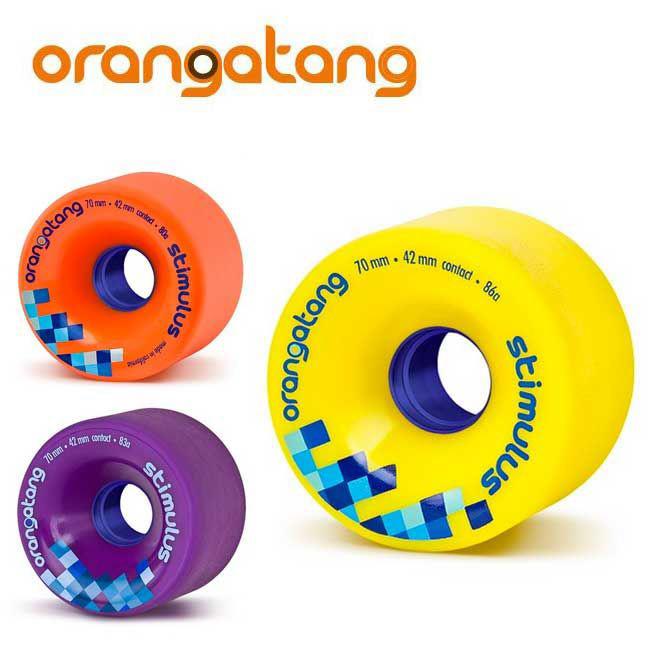 ORANGATANG WEELS [ STIMULUS ] オランガタン ウィール ローデッドボード Loaded Boards ロング スケート 用【正規代理店商品】