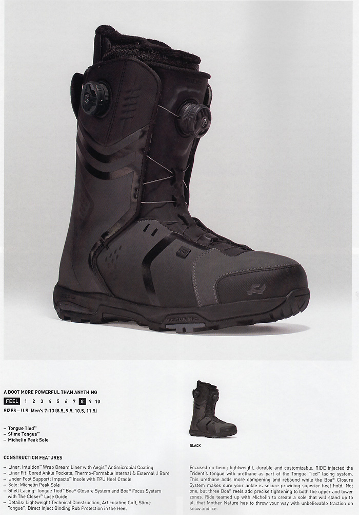 RIDE BOOTS [TRIDENT] ride boots regular import goods