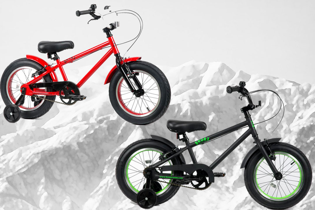 Bicycle フアットバイク @28080 for 16 inches of FAT BIKE-style 16inch child for  BRONX KIDS