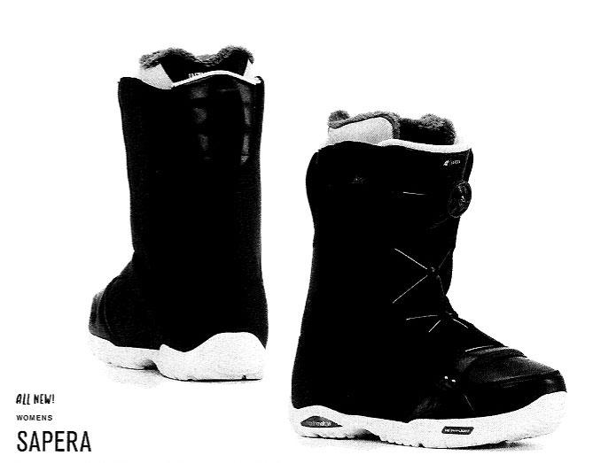 【在庫限最終特価】 K2 SNOWBOARDING BOOTS [ SAPERA @42120] ウーメンズ ブーツ 安心の正規輸入品
