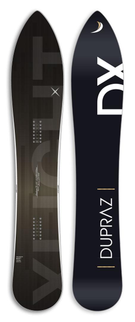 DUPRAZ SNOWBOARDS [ 6' X-light FREERIDE @124200] デュプラス スノーボード 安心の正規品