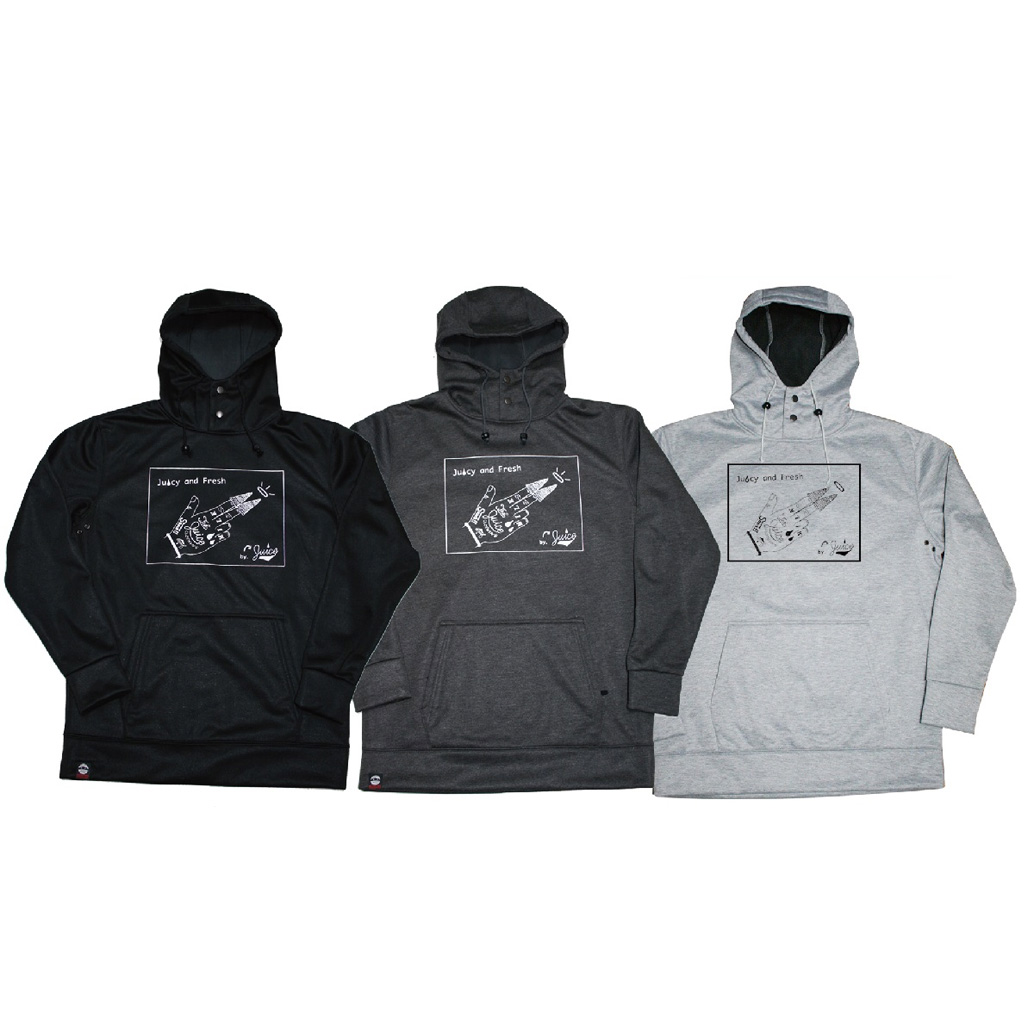 SHOWTIME COLLECTIVE [撥水防水耐水ボンデッドパーカー@11000] PO17-004 MILK ショータイムコレクティブ