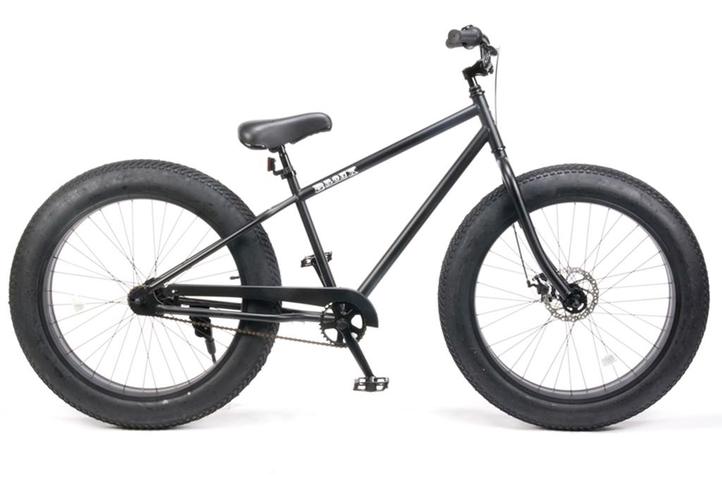 【 26インチ BRONX 4.0 FAT BIKE@48600 】 ブロンクス ファットバイク グロスブラック×ポリッシュリム 自転車 サイクル