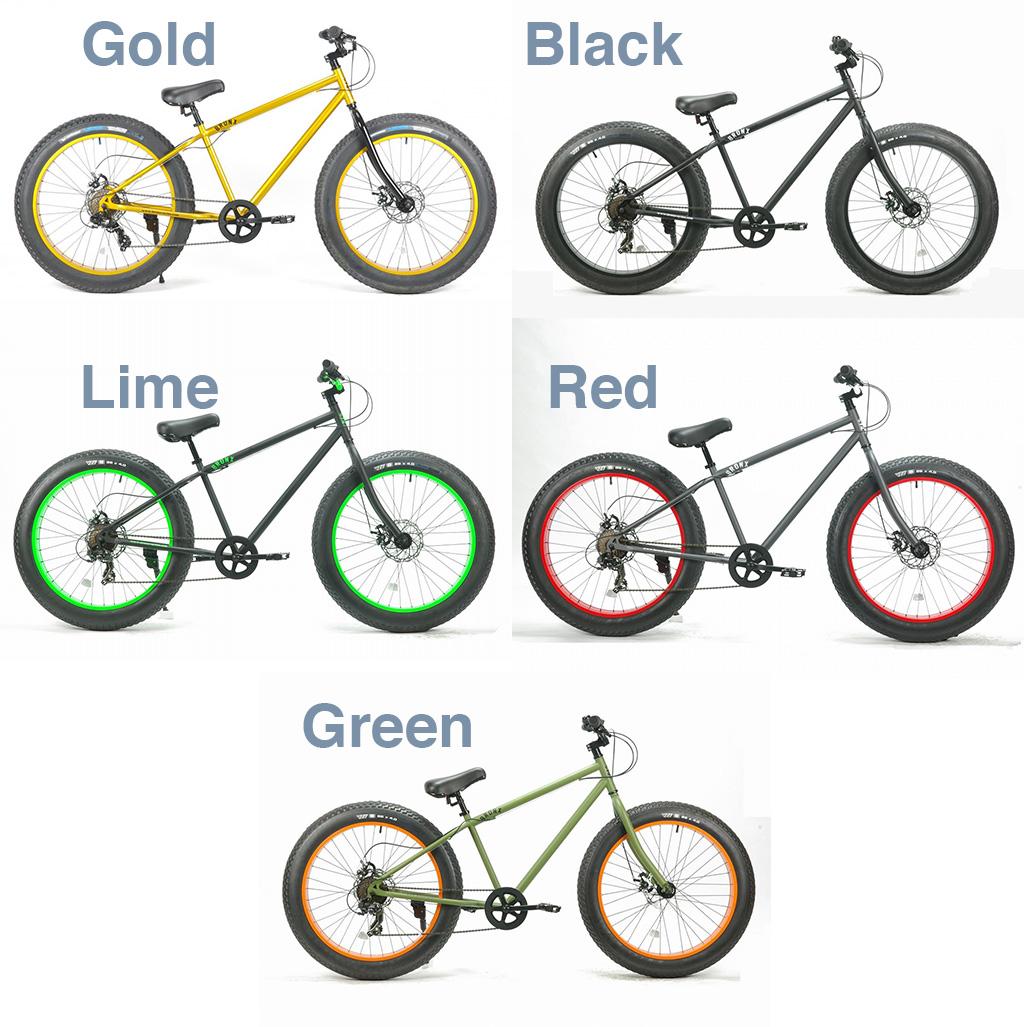 【 26インチ BRONX 4.0 DD FAT BIKE@54000 】 ブロンクス ファットバイク 自転車 サイクル