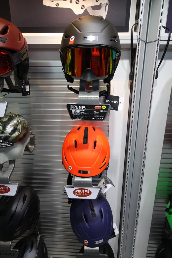 【在庫限最終特価】 GIRO SNOW HELMET [ UNION MIPS AsianFit @28080] ジロ ヘルメット 【正規代理店商品】【送料無料】