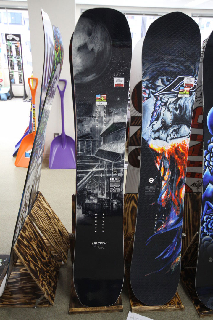 LIBTECH SNOWBOARDS [ BOX KNIFE @75600] リブテック スノーボード 【正規代理店商品】【送料無料】