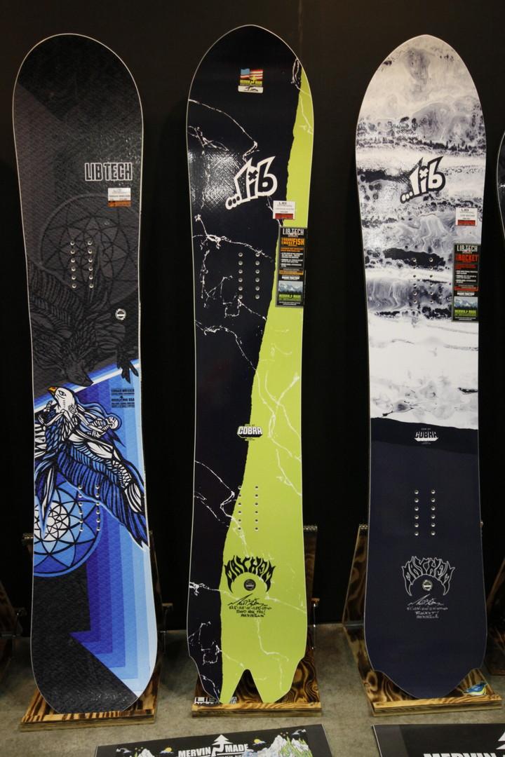 LIBTECH SNOWBOARDS [ ...LOST × LIB ROUND NOSE FISH @101520] リブテック スノーボード 【正規代理店商