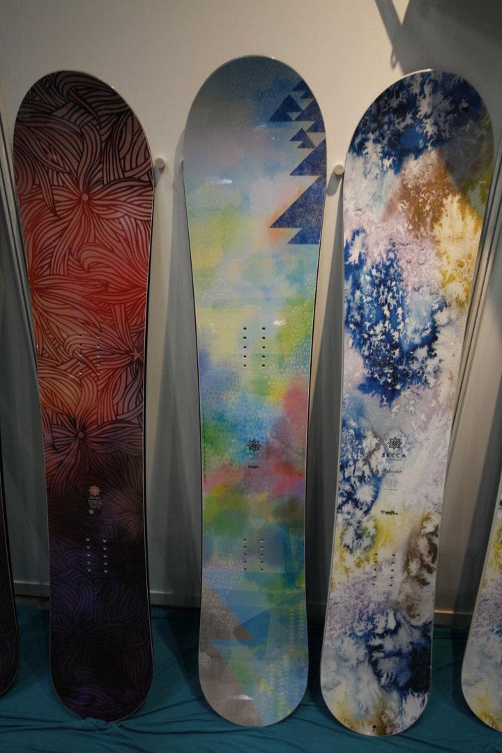 SECCA snowboard [ Gloovy ] セッカ スノーボード @85320【送料無料】
